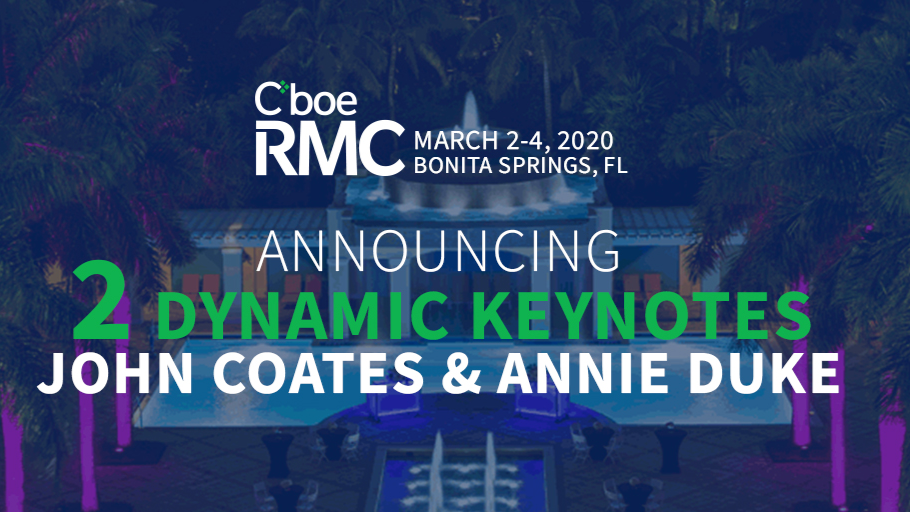 Meet the 2020 Cboe Risk Management Conference U.S. Keynote Speakers Thumbnail